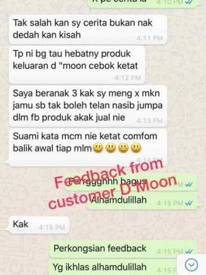Testimoni Dmoon Beauty 30