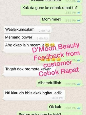 Testimoni Dmoon Beauty 33