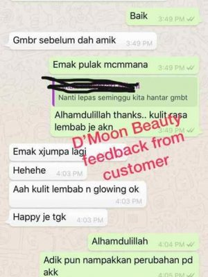 Testimoni Dmoon Beauty 35