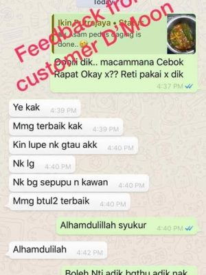 Testimoni Dmoon Beauty 38