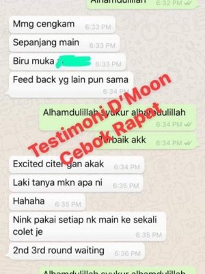 Testimoni Dmoon Beauty 4